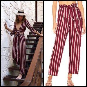 BEACH RIOT 🏖 Paloma Striped Pants NWT
